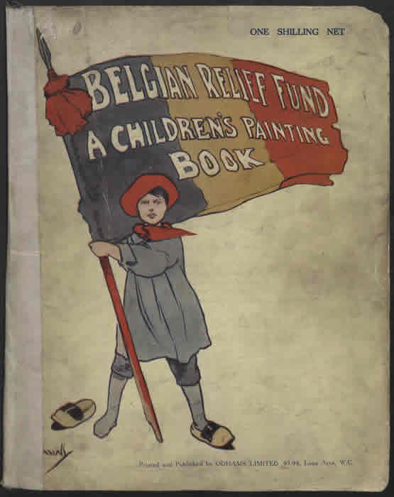A Children's Painting Book. Courtesy of the Robert Opie Collection